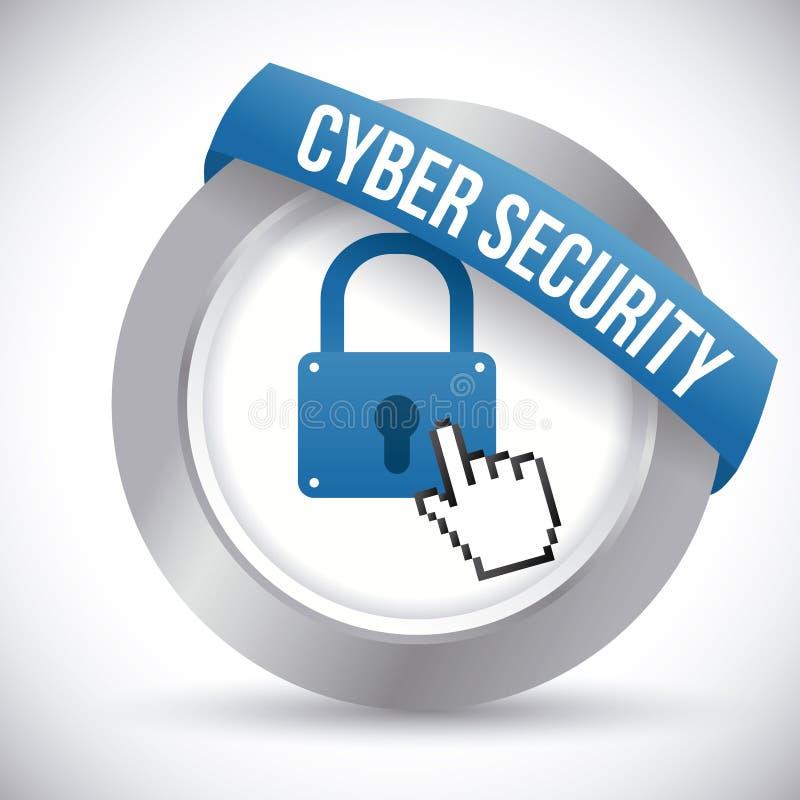 Systemu bezpieczeństwa projekt royalty ilustracja