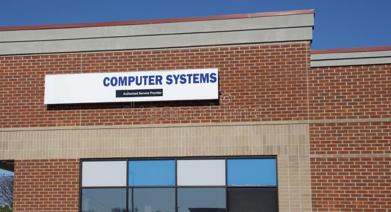 Systemy Komputerowi Upoważniali Service Provider zdjęcia stock