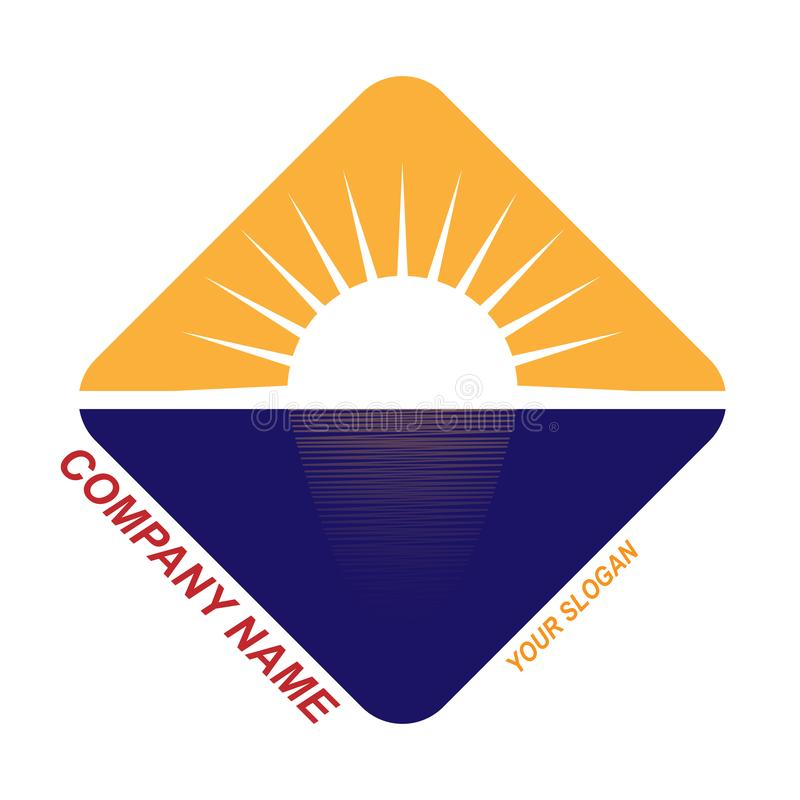 szablon dla podróży firmy logo, podróży firma ilustracji