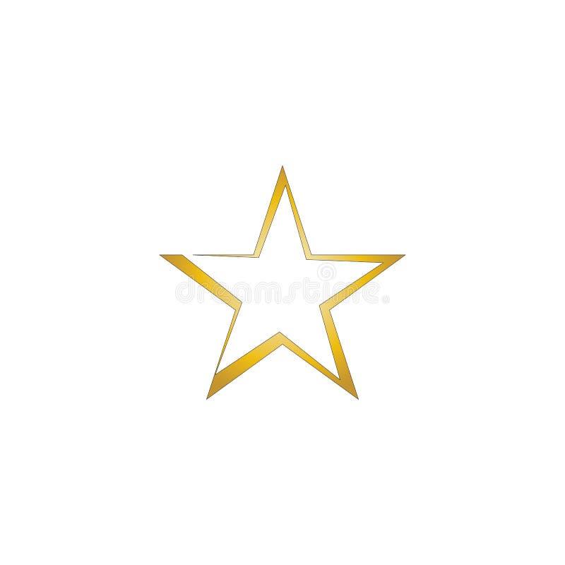 Szablon ilustracji wektora logo gwiazdy ilustracji