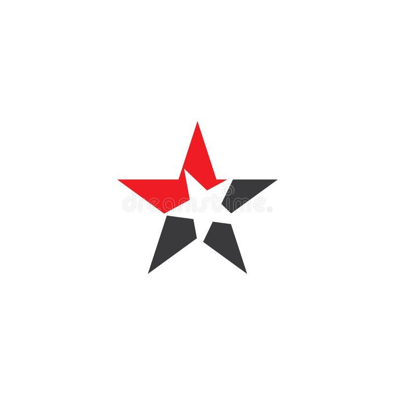 Szablon ilustracji wektora logo gwiazdy ilustracja wektor