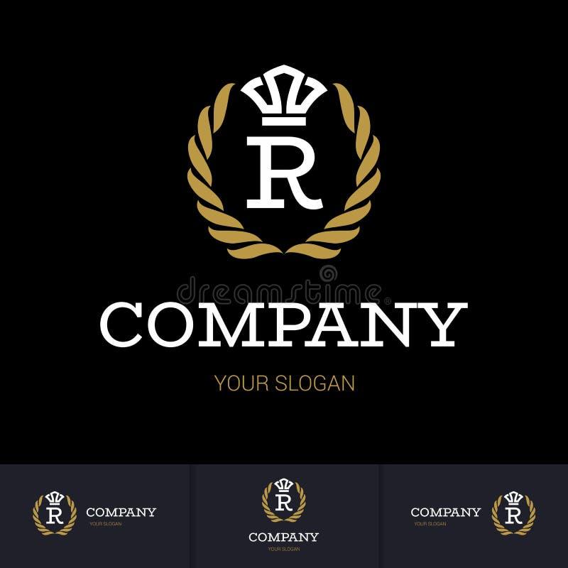 Szablon logo royalty ilustracja