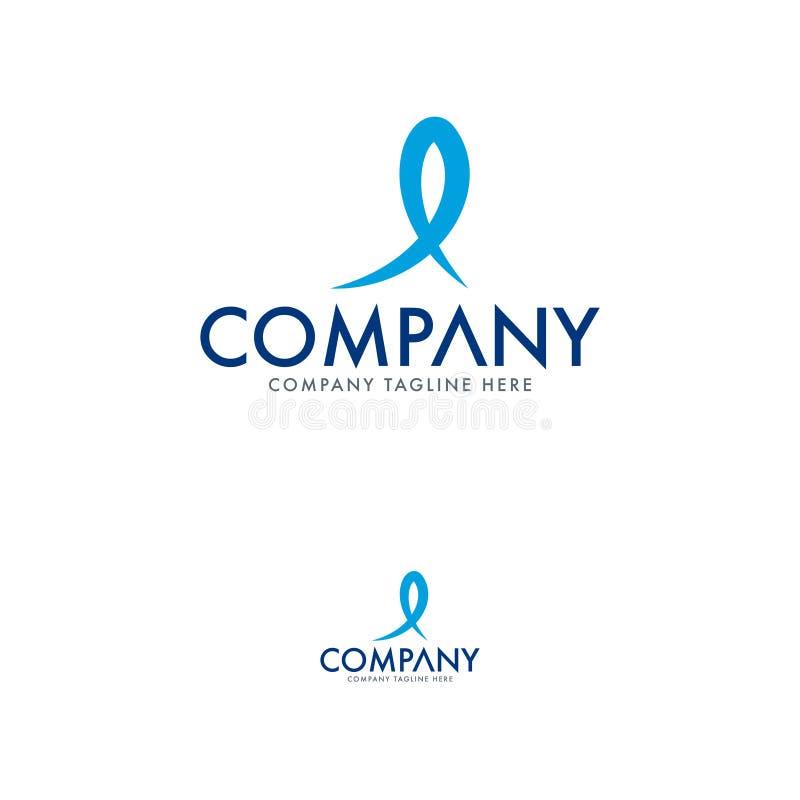 Szablon projektu logo kreatywnych ryb i restauracji royalty ilustracja