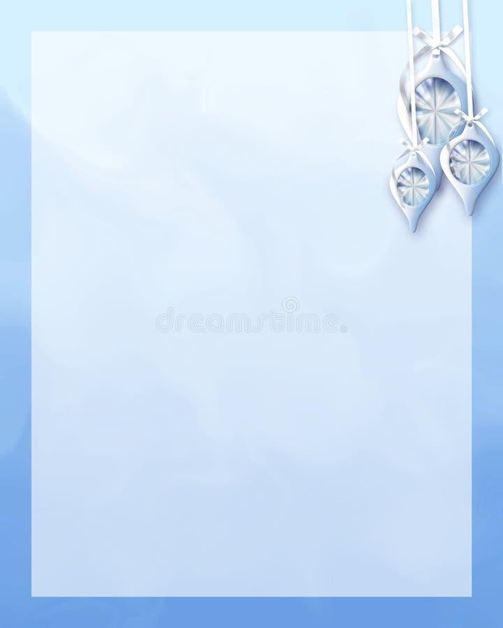 szablon zima royalty ilustracja