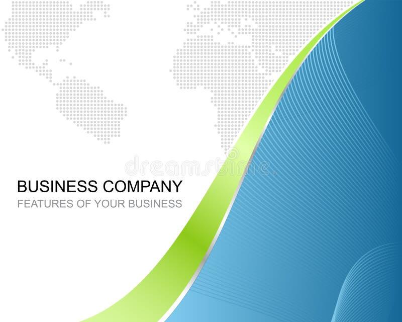 Szablonu korporacyjny Biznesowy Tło royalty ilustracja