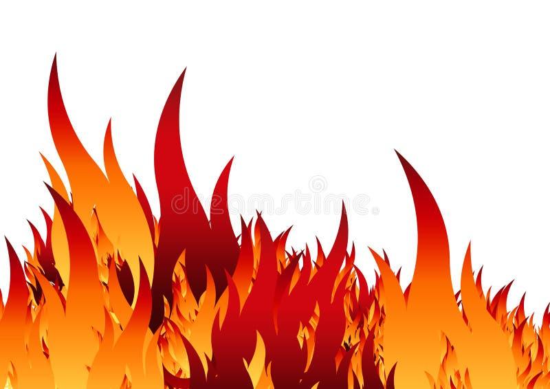 szablony ognia ilustracji