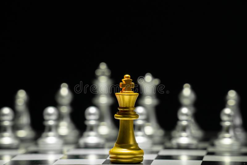 Szachowa gra planszowa fotografia royalty free
