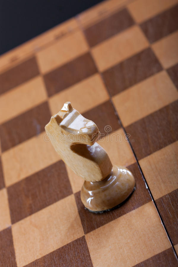 Szachowego kawałka rycerz zdjęcia stock