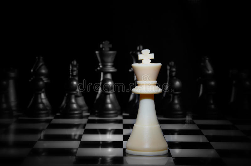 szachowej gry strategia zdjęcia royalty free