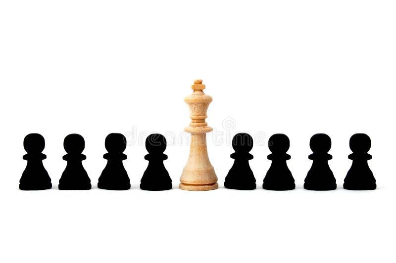 szachowi indywidualni ludzie zdjęcie royalty free