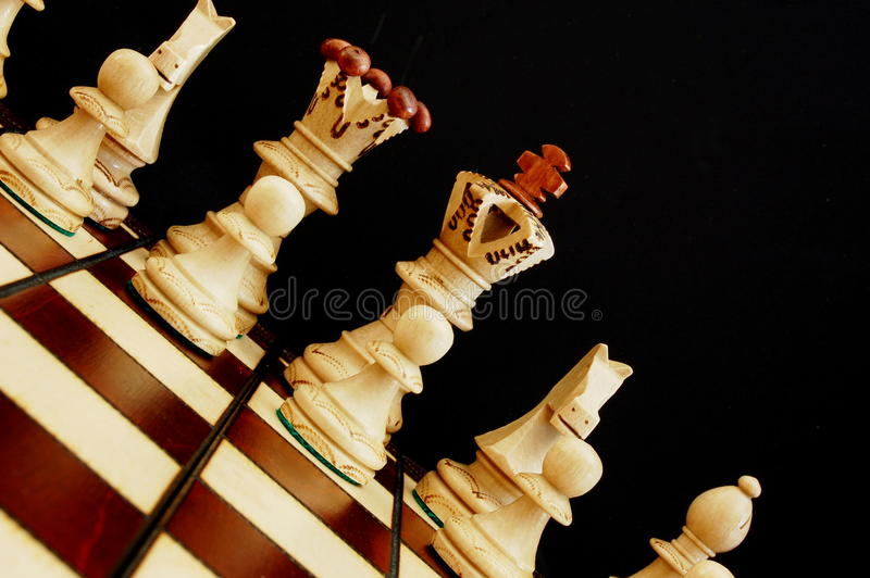 szachowi kawałki obrazy royalty free