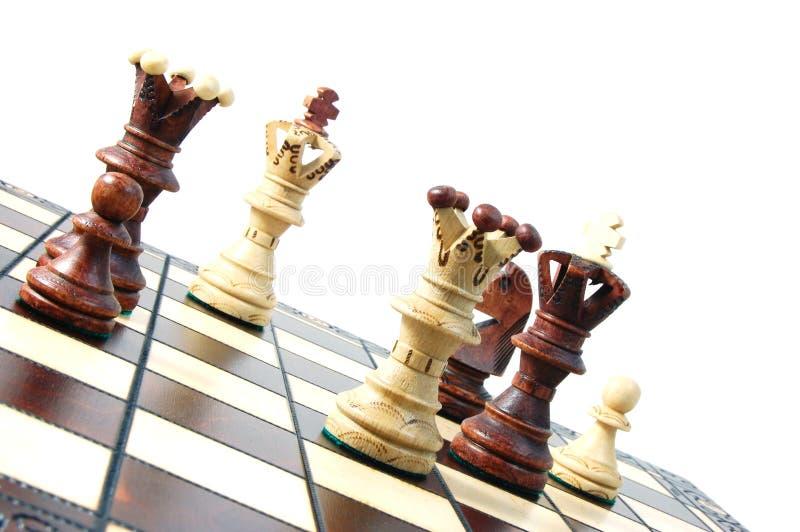 szachowi kawałki fotografia royalty free