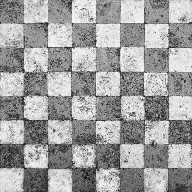 szachownicy grunge mozaika royalty ilustracja