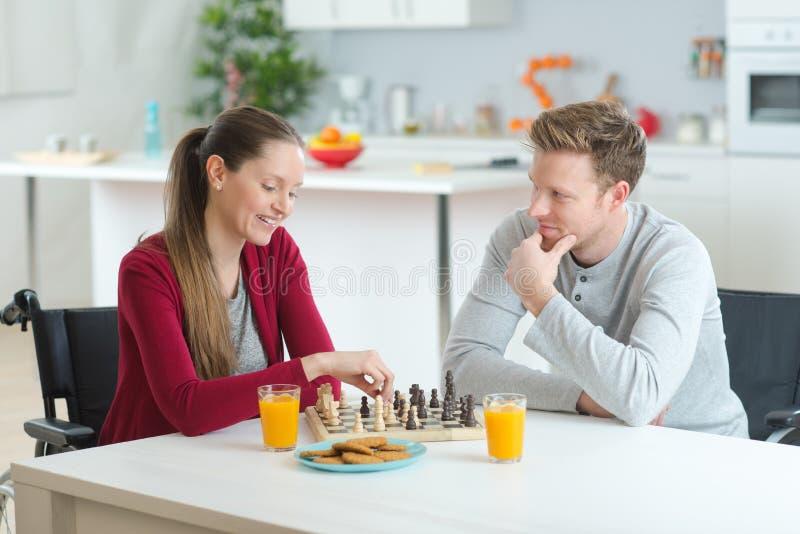 szachowy bawić się domu zdjęcia royalty free