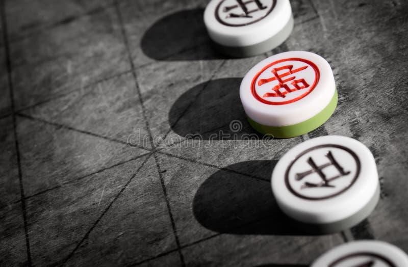 szachowy chińczyk zdjęcie royalty free