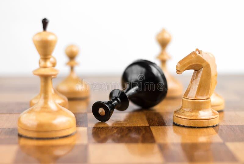 Szachowy królewiątko szachuje obrazy stock