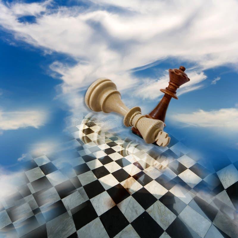 szachowy skład zdjęcie stock