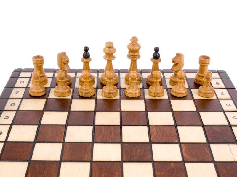 Download Szachy drewniany zdjęcie stock. Obraz złożonej z chessboard - 13330200