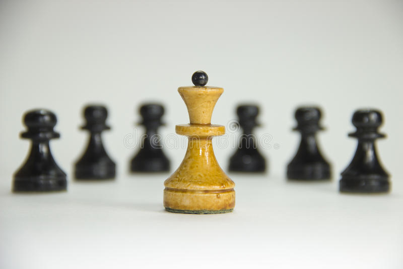 szachy lider obraz royalty free
