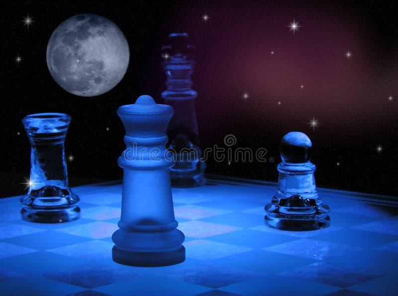 szachy przestrzeni royalty ilustracja