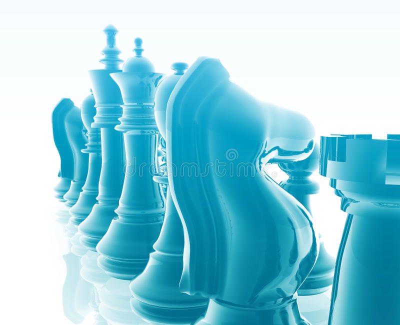 szachy set ilustracji
