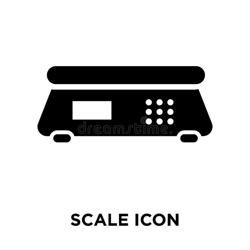 Szalkowy ikona wektor odizolowywający na białym tle, loga pojęcie royalty ilustracja
