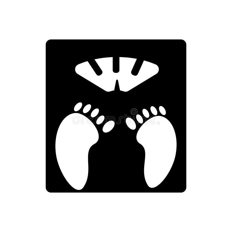 Szalkowy ikona wektoru znak i symbol odizolowywający na białym tle, Szalkowy logo pojęcie royalty ilustracja