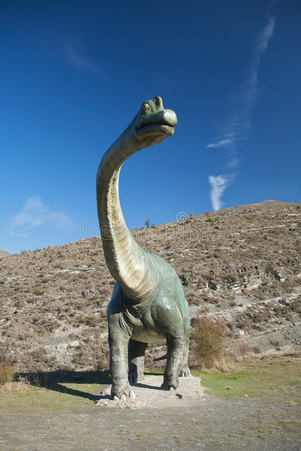 Szalkowy reala dinosaur zdjęcia royalty free