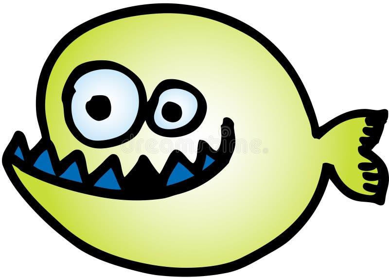 szalona ryba ilustracji
