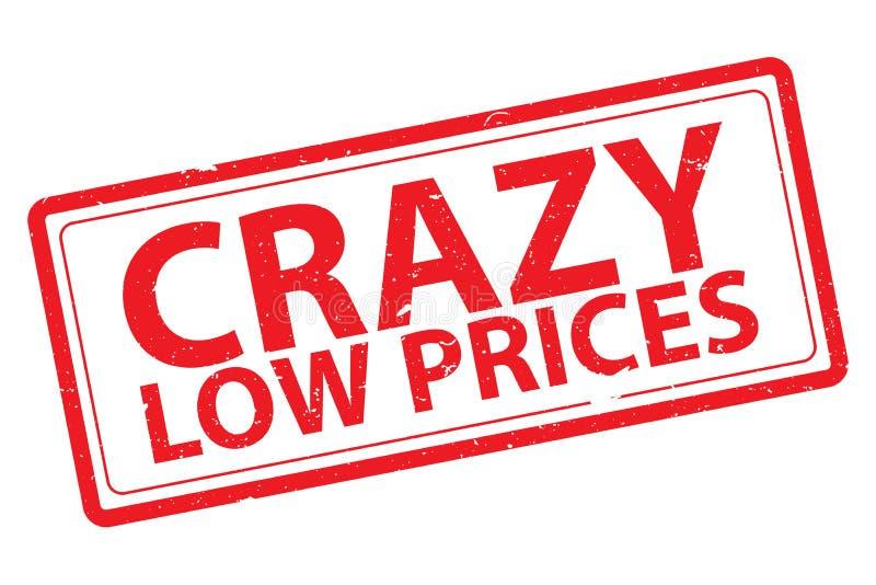Szalone niskie ceny ilustracji