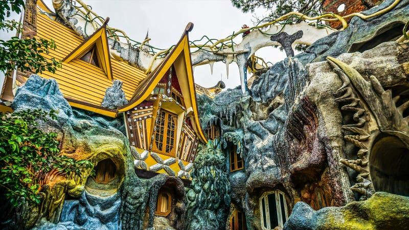 szalony dom Wietnam zdjęcie royalty free