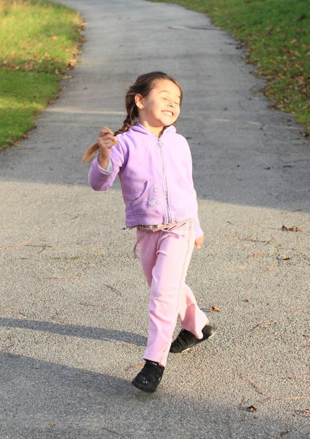 Szalony dziewczyny łasowanie fotografia stock