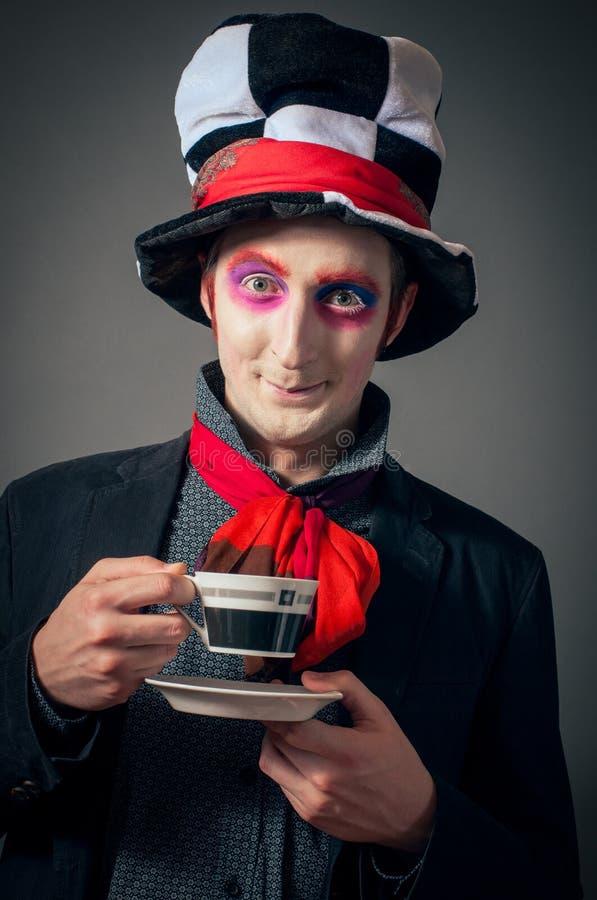 Szalony Hatter zdjęcie stock