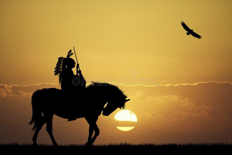 szalony koń ilustracja wektor