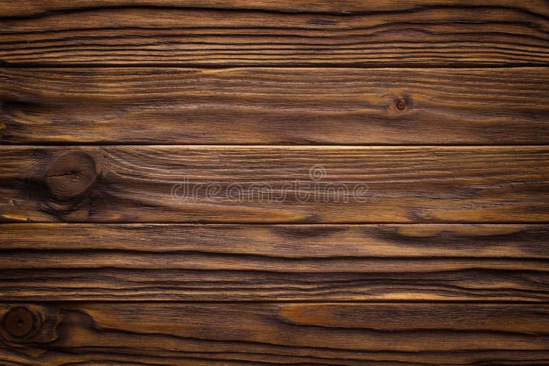 Szalunku brązu ściany deski rocznika drewniany tło obraz royalty free