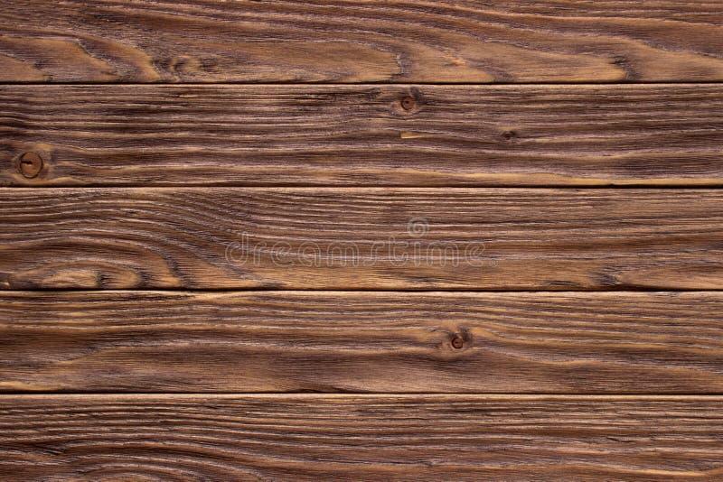 Szalunku brązu ściany deski rocznika drewniany tło zdjęcie stock
