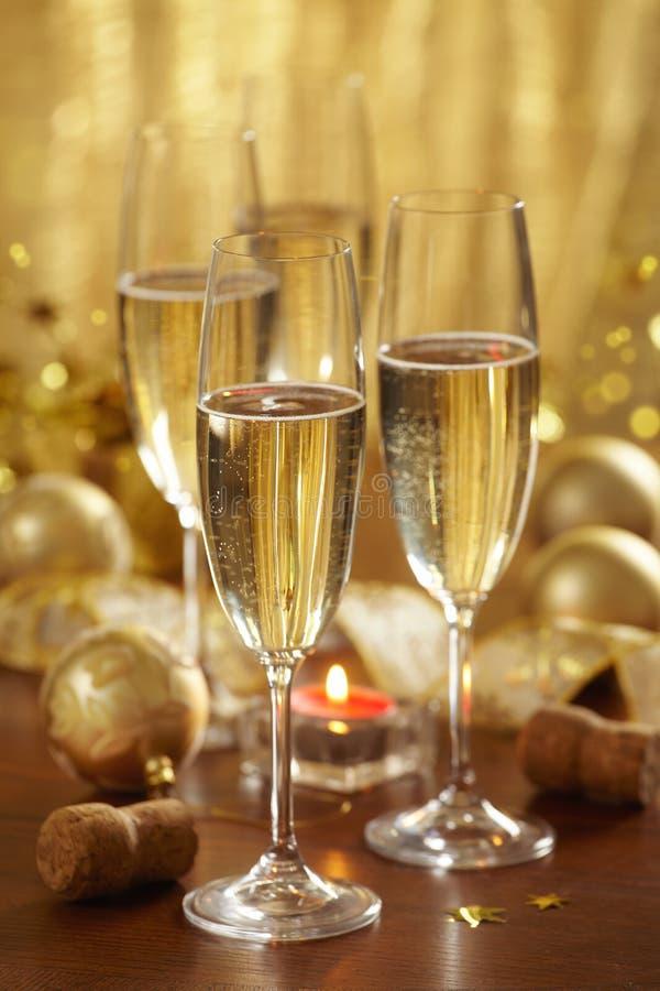 szampańscy boże narodzenia obrazy royalty free