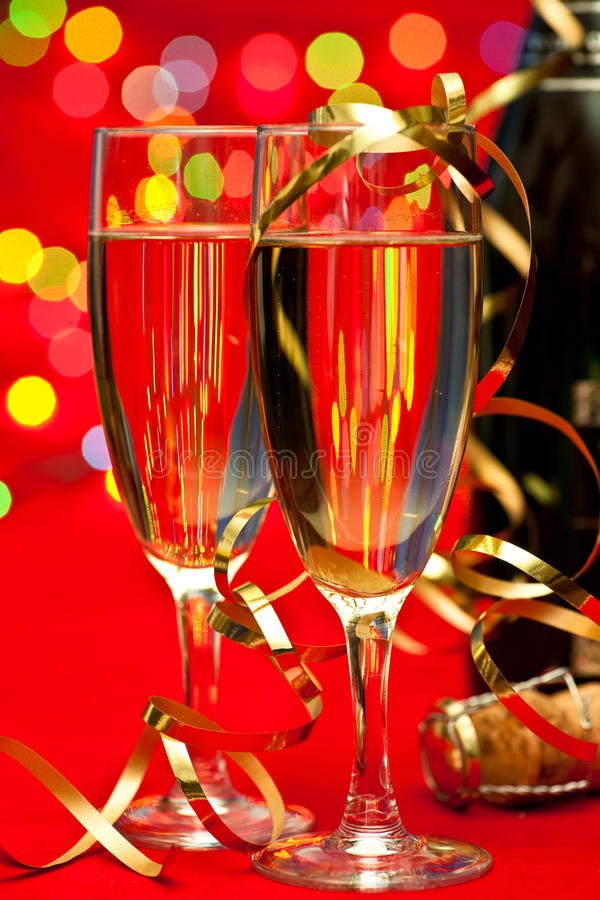 szampańscy nowy rok zdjęcia stock