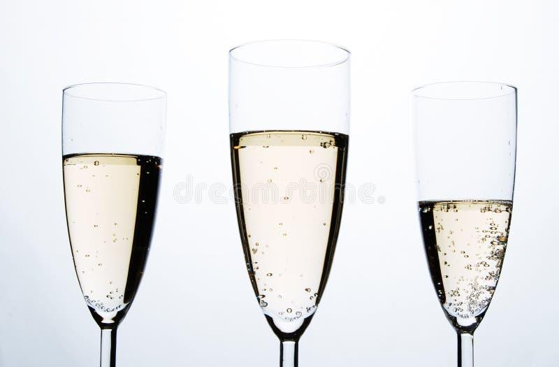 szampańscy szkła zdjęcia stock