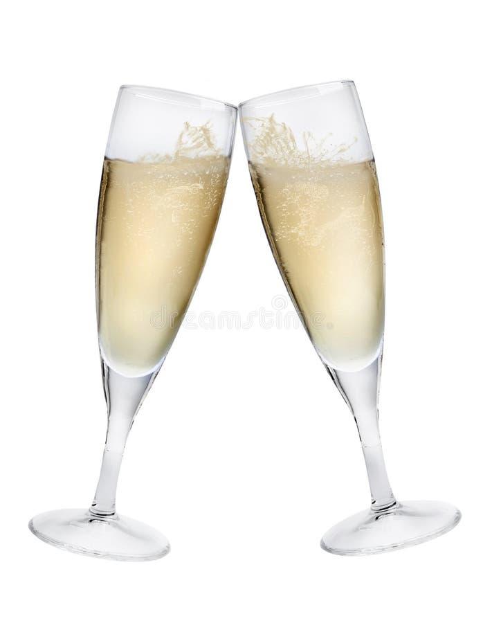 szampańska grzanka obraz royalty free