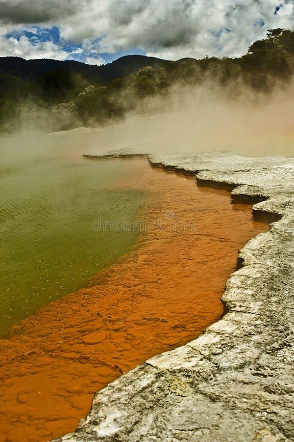 Szampański jezioro obraz stock