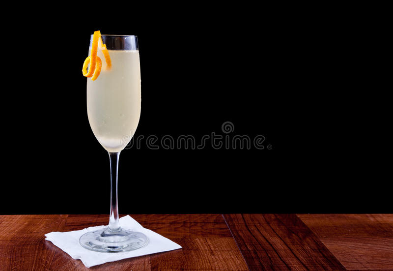 szampański koktajl obraz royalty free