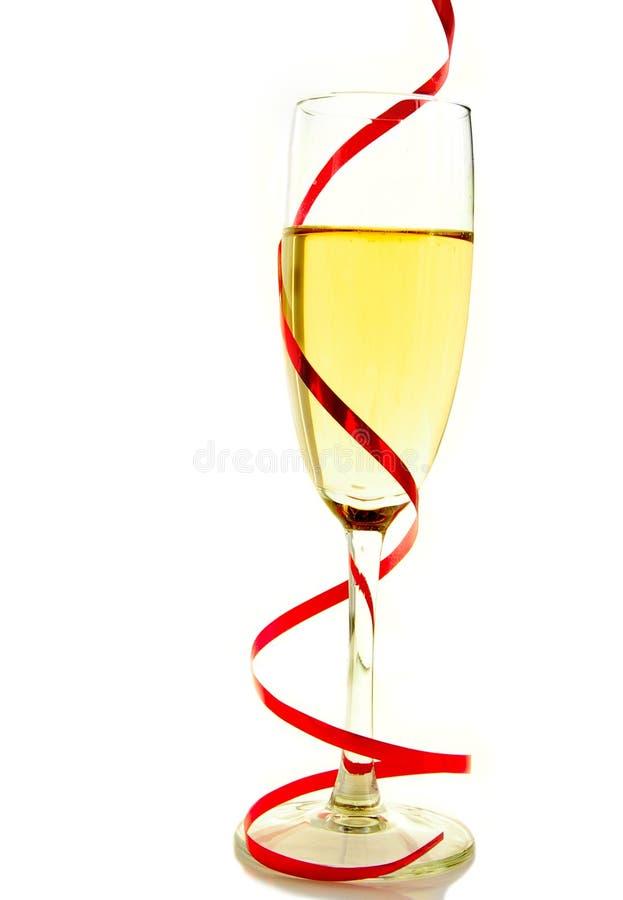 szampański szkło zdjęcie royalty free