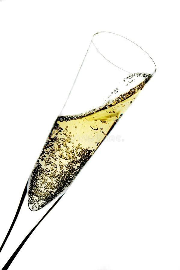 szampański szkło zdjęcia royalty free