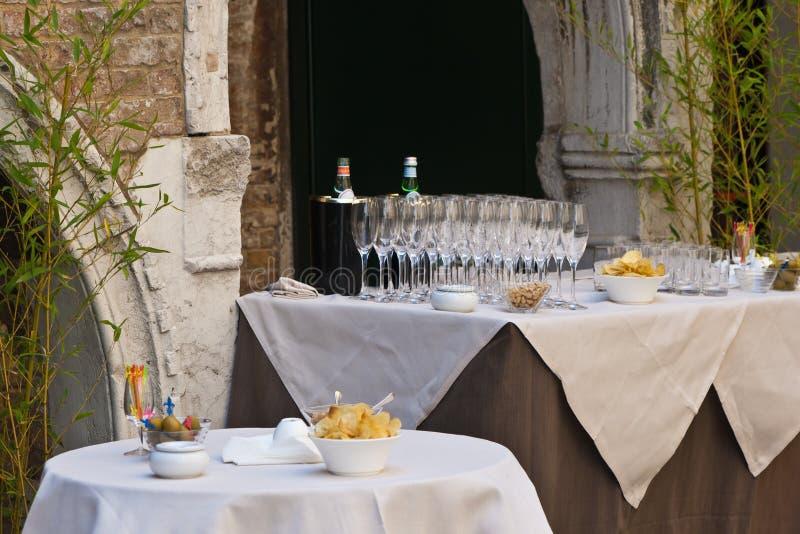 szampańskich fletów partyjne szuje zdjęcia stock