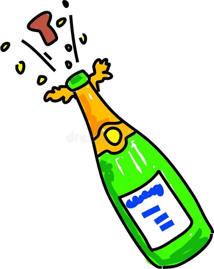 szampan ilustracji