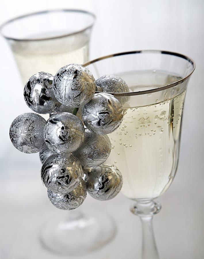 szampan nowego roku zdjęcie royalty free