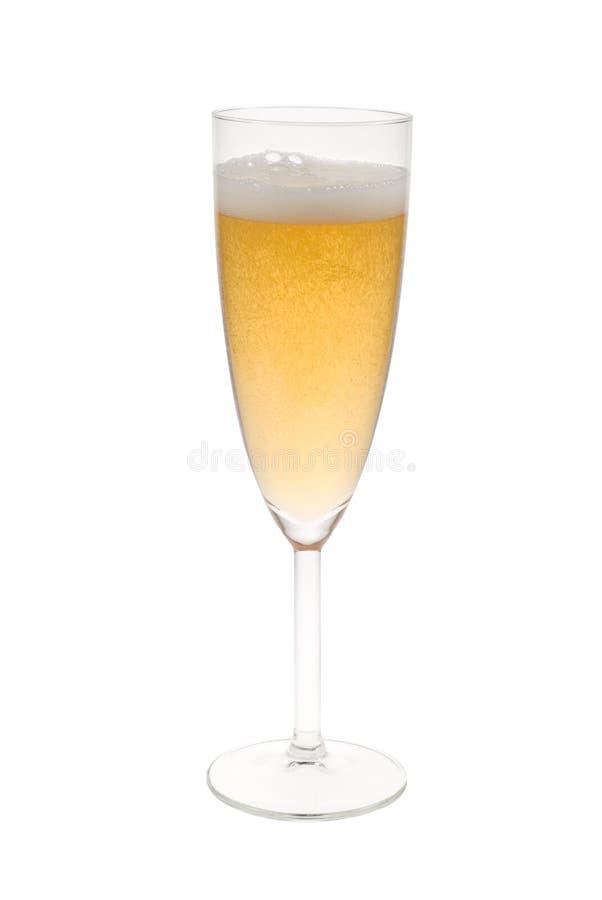 szampan odizolowane obrazy stock