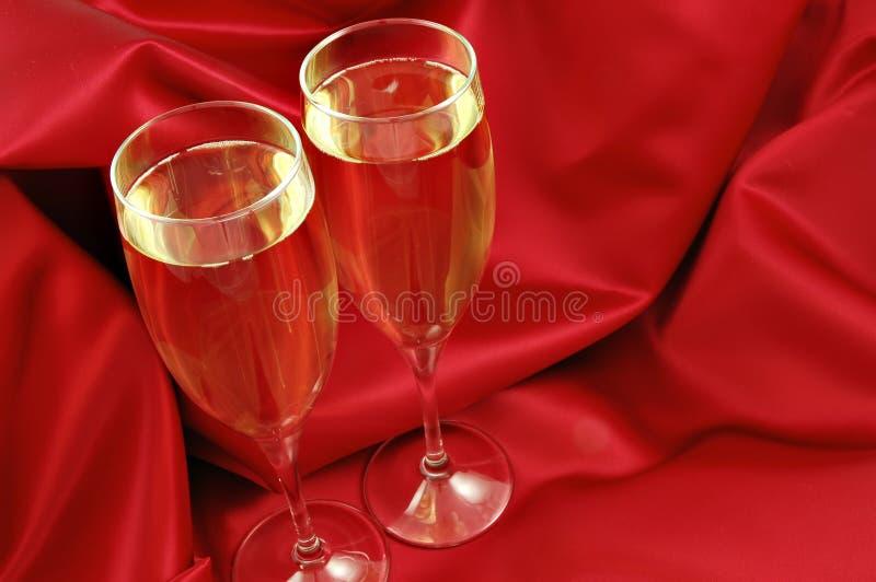 szampan romantyczne zdjęcie stock
