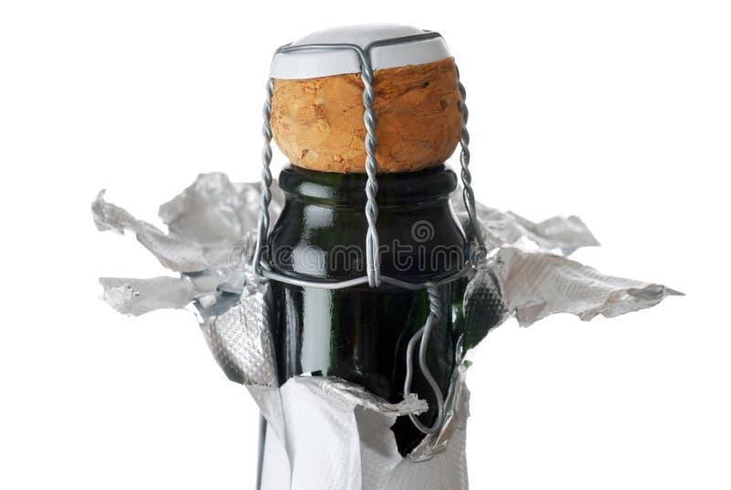 szampana z korka obrazy royalty free